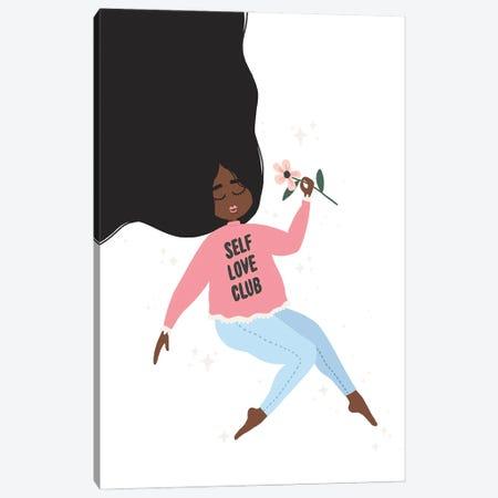 Self Love Club Canvas Print #BAU21} by The Beau Studio Canvas Print