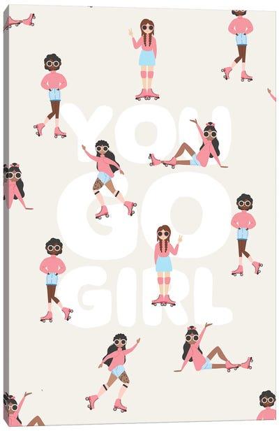 You Go Girl Canvas Art Print