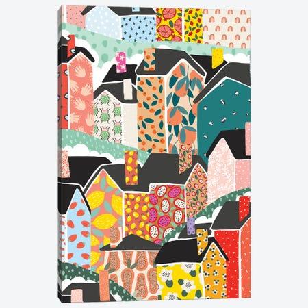 The Village Canvas Print #BAU2} by The Beau Studio Canvas Print