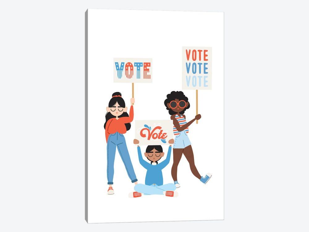 Vote, Vote, Vote by The Beau Studio 1-piece Art Print