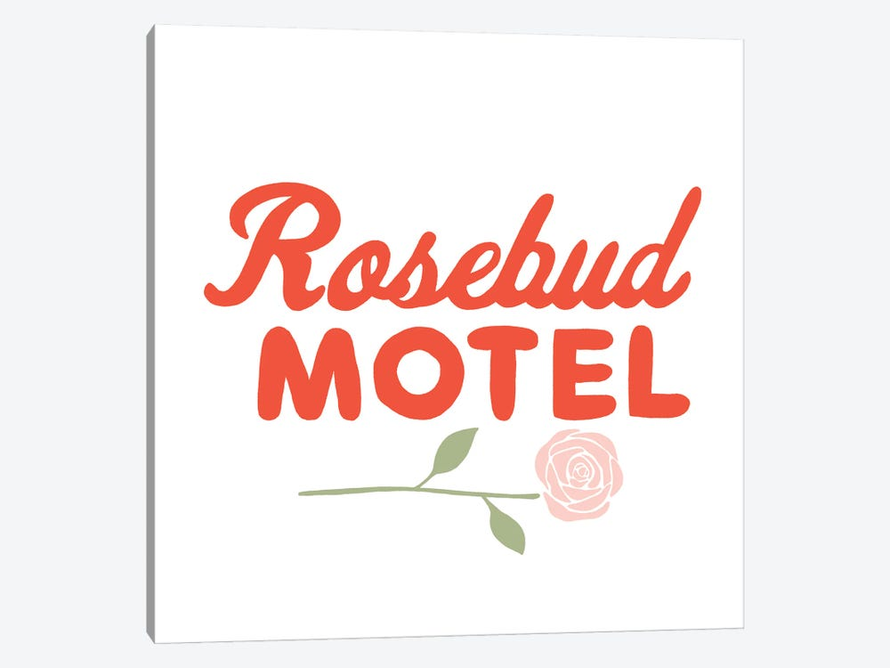Rosebud Motel by The Beau Studio 1-piece Art Print