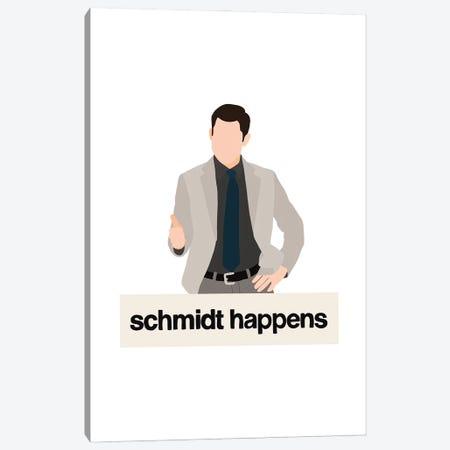 Schmidt Happens Canvas Print #BAU49} by The Beau Studio Canvas Print
