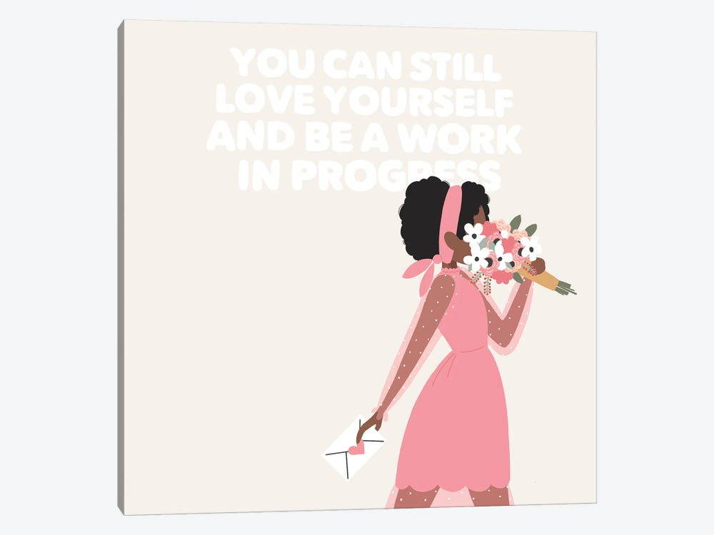 Love Yourself by The Beau Studio 1-piece Canvas Wall Art