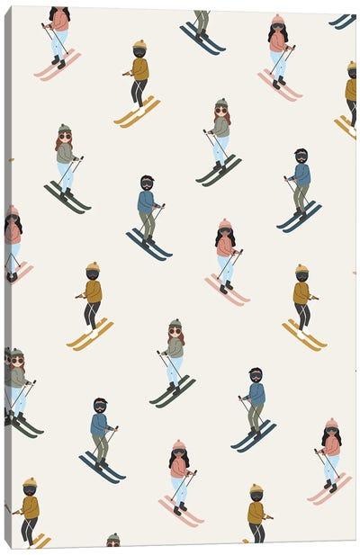 Ski Day Canvas Art Print
