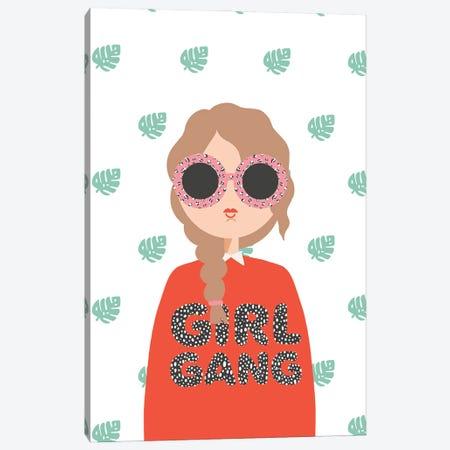 Girl Gang Canvas Print #BAU5} by The Beau Studio Canvas Art