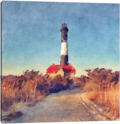 Fire Island Light Canvas Art Print