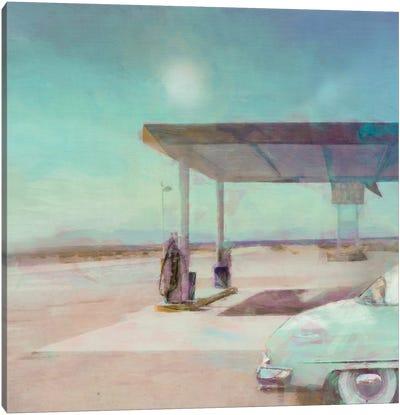 Gas Stop Canvas Art Print