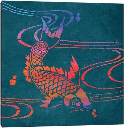 Koi I Canvas Art Print