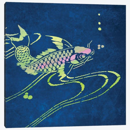 Koi II Canvas Print #BAY23} by Noah Bay Canvas Art Print