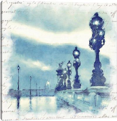 Paris in Blue II Canvas Art Print