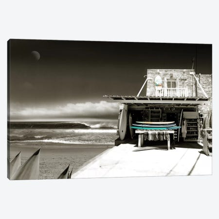 Surf's Up Canvas Print #BAY2} by Noah Bay Art Print