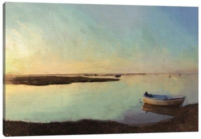 Shingle Beach Canvas Art Print