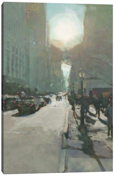 South on 5th Canvas Art Print