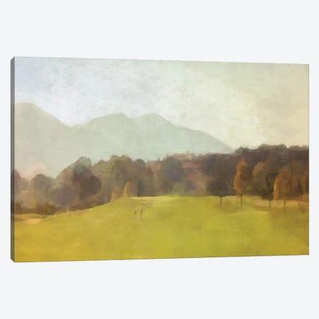 The Green Canvas Print #BAY39} by Noah Bay Canvas Artwork