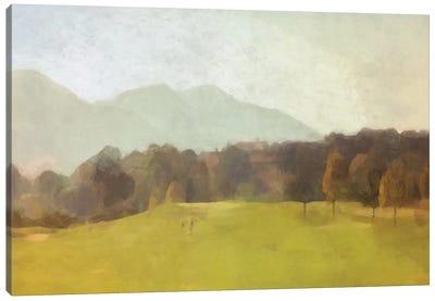 The Green Canvas Art Print