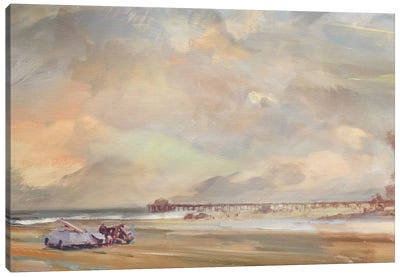 The North Swell Canvas Art Print