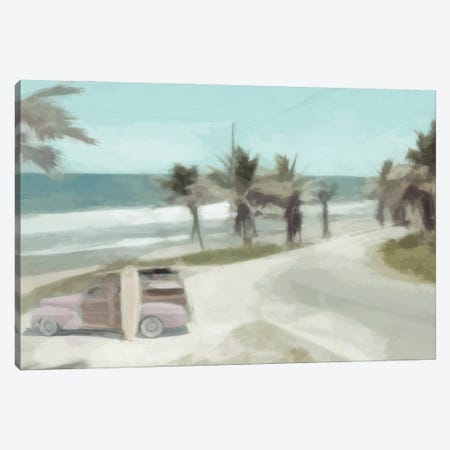 Woody on the Coast Canvas Print #BAY44} by Noah Bay Canvas Art