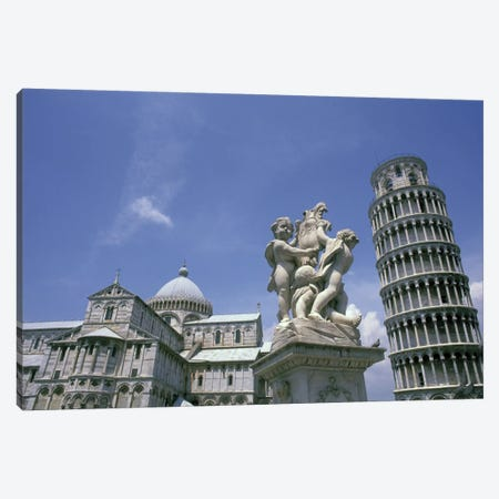 Piazza del Duomo (Cathedral Square), Pisa, Tuscany Region, Italy Canvas Print #BBA1} by Bill Bachmann Canvas Print