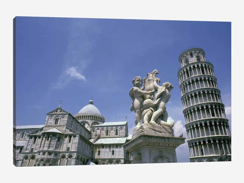 Piazza del Duomo (Cathedral Square), Pisa, Tuscany Region, Italy 1-piece Canvas Art