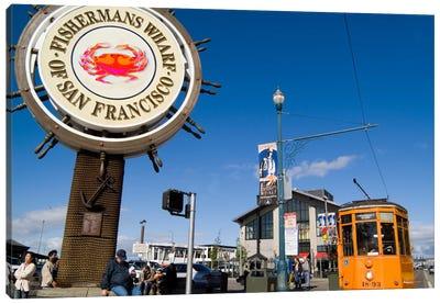 Fisherman's Wharf, San Francisco, California, USA Canvas Print #BBA4