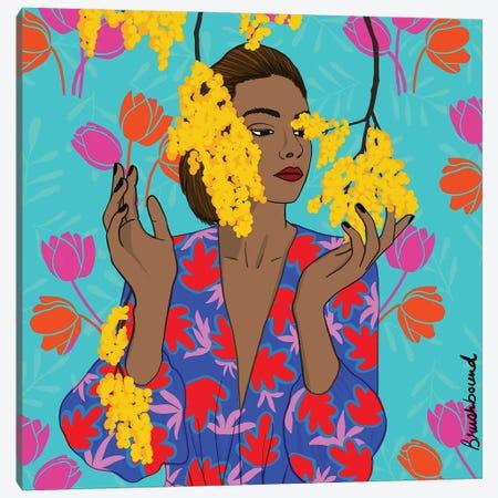 Ldoublej Canvas Print #BBD31} by BrushBound Art Print