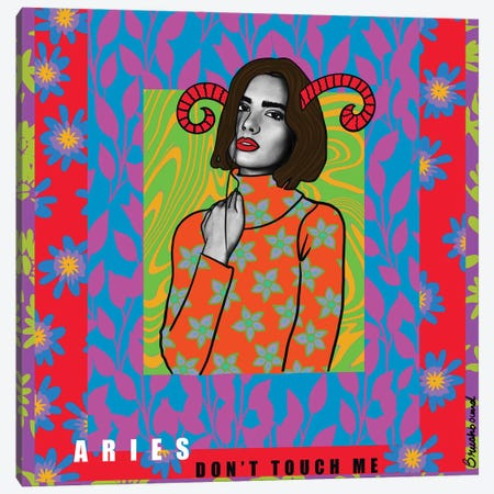 Aries Canvas Print #BBD45} by BrushBound Canvas Print