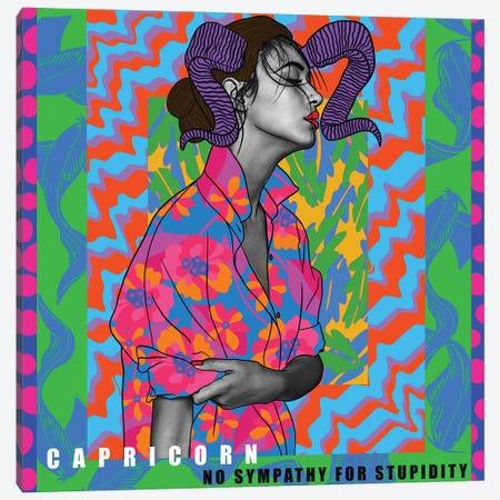 Capricorn Canvas Print #BBD46} by BrushBound Canvas Print
