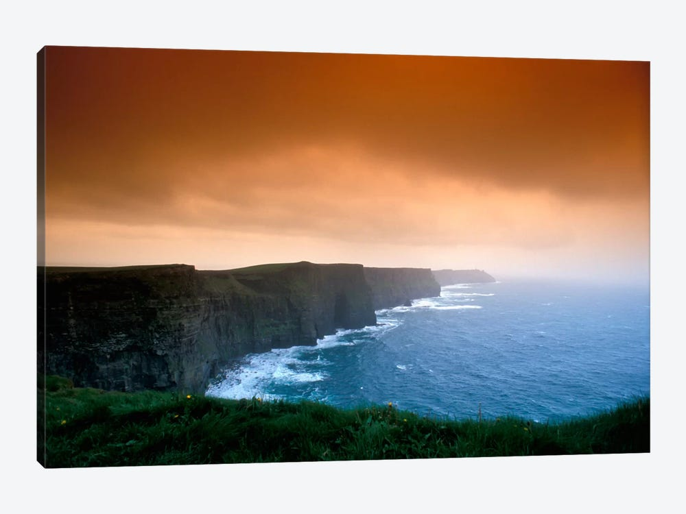 Cliffs Of Moher, County Clare, Munster Province, Republic Of Ireland by Brent Bergherm 1-piece Canvas Artwork