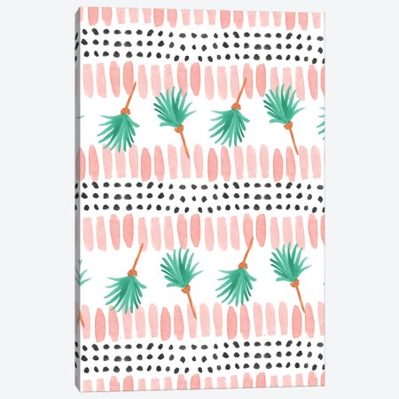 Tropical Mix Canvas Print #BBH120} by Bouffants & Broken Hearts Canvas Wall Art