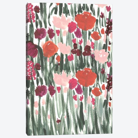 Ugly Garden II Canvas Print #BBH121} by Bouffants & Broken Hearts Canvas Artwork