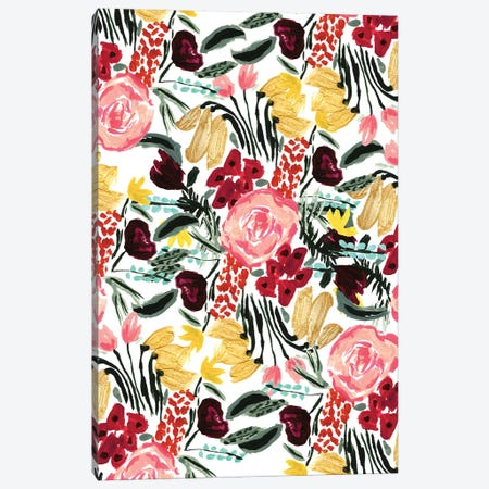Wild Garden II Canvas Print #BBH128} by Bouffants & Broken Hearts Canvas Artwork