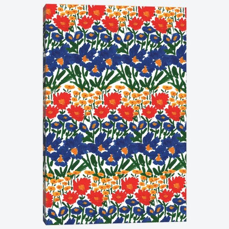 Wild Garden IV Canvas Print #BBH129} by Bouffants & Broken Hearts Canvas Wall Art