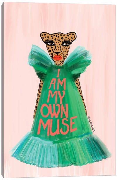 I Am My Own Muse Canvas Art Print