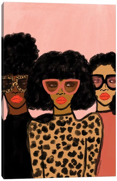 Shade Squad Canvas Art Print