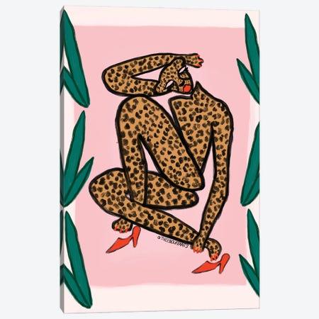 Matisse Cheetah Canvas Print #BBH200} by Bouffants & Broken Hearts Canvas Print