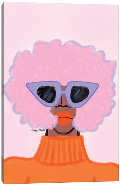 Ultimate Shady Lady Canvas Art Print