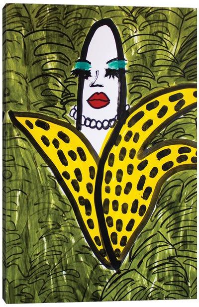 Sassy Banana Canvas Art Print