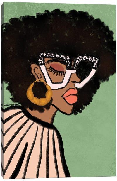 Chic Glasses Canvas Art Print