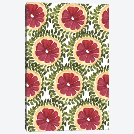 Blood Orange I Canvas Print #BBH27} by Bouffants & Broken Hearts Art Print