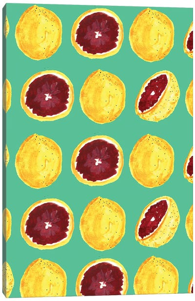 Blood Orange II Canvas Art Print