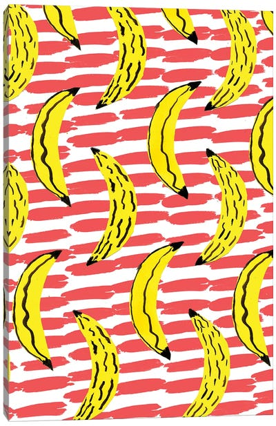 Bold Bananas Canvas Art Print