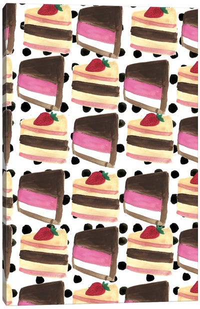 Cake Slices Canvas Art Print