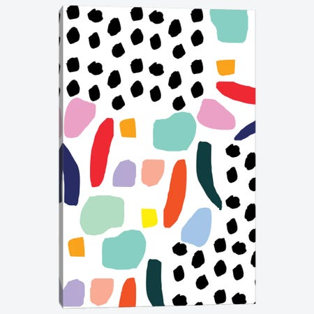 Party Mix Canvas Print #BBH4} by Bouffants & Broken Hearts Canvas Print