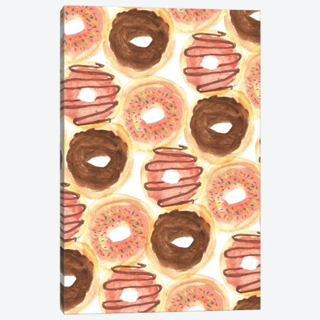 Donuts Canvas Print #BBH52} by Bouffants & Broken Hearts Canvas Print