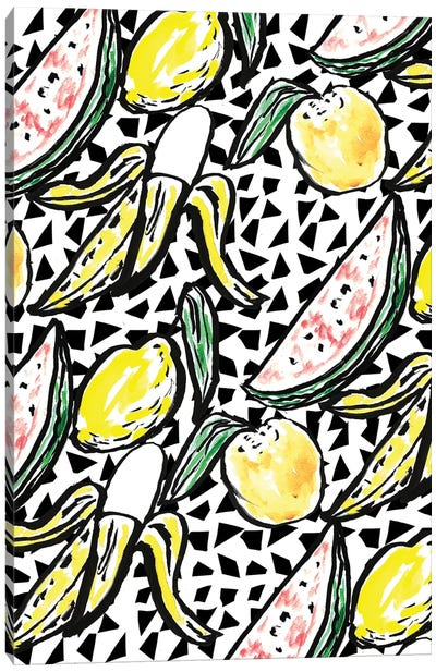 Fruit Party V Canvas Art Print
