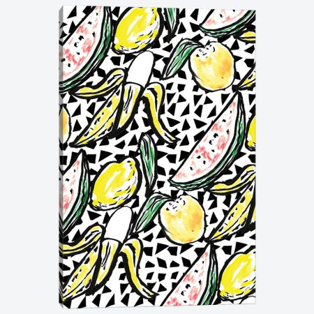 Fruit Party V Canvas Print #BBH67} by Bouffants & Broken Hearts Canvas Print