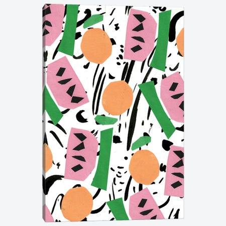 Modern Art Fruit Canvas Print #BBH93} by Bouffants & Broken Hearts Canvas Art Print