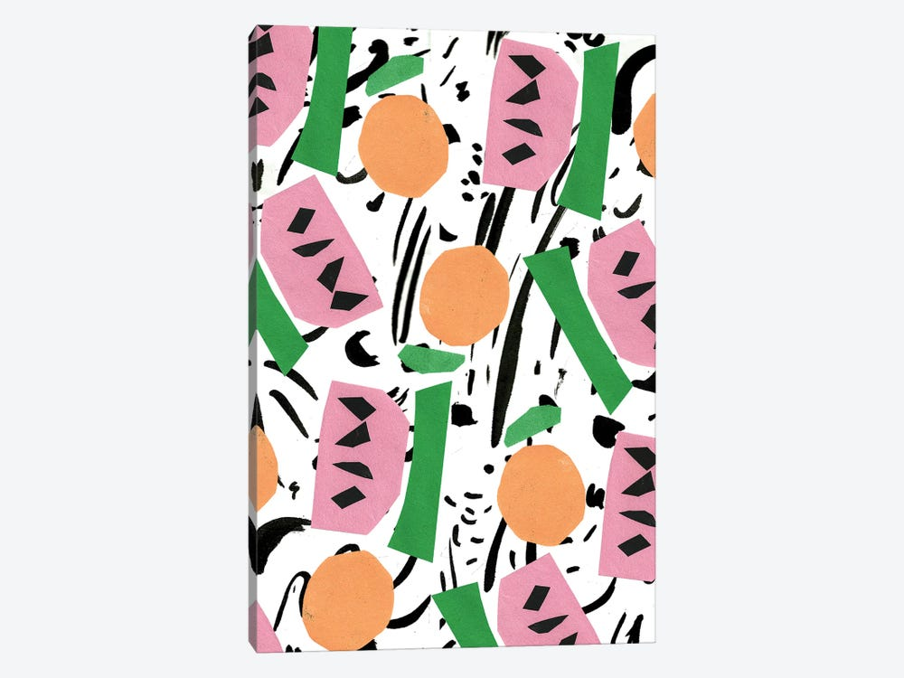 Modern Art Fruit by Bouffants & Broken Hearts 1-piece Art Print