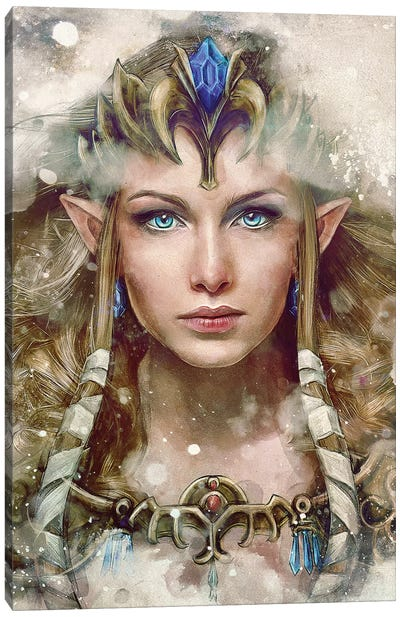 The Epic Princess Canvas Art Print
