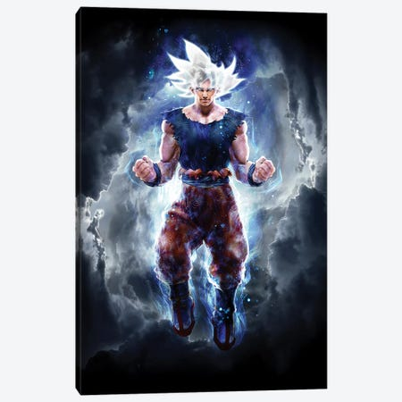 Ultra Instinct Canvas Print #BBI107} by Barrett Biggers Canvas Artwork